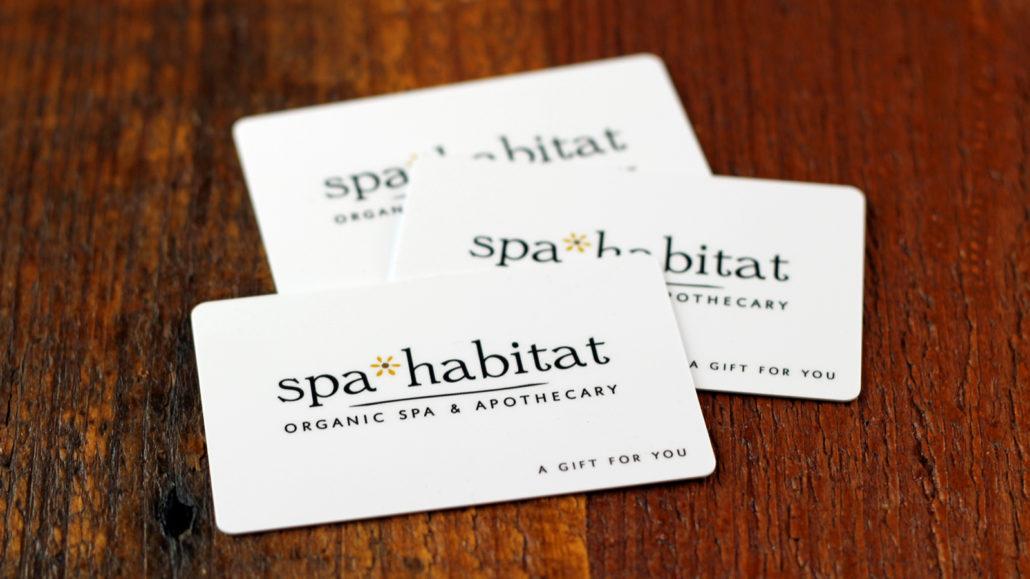 Spa Gift Cards Spa Habitat Organic Spa And Apothecary Dallas