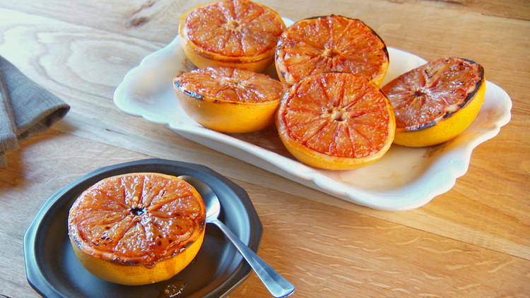 Martha Stewart Broiled Grapefruit